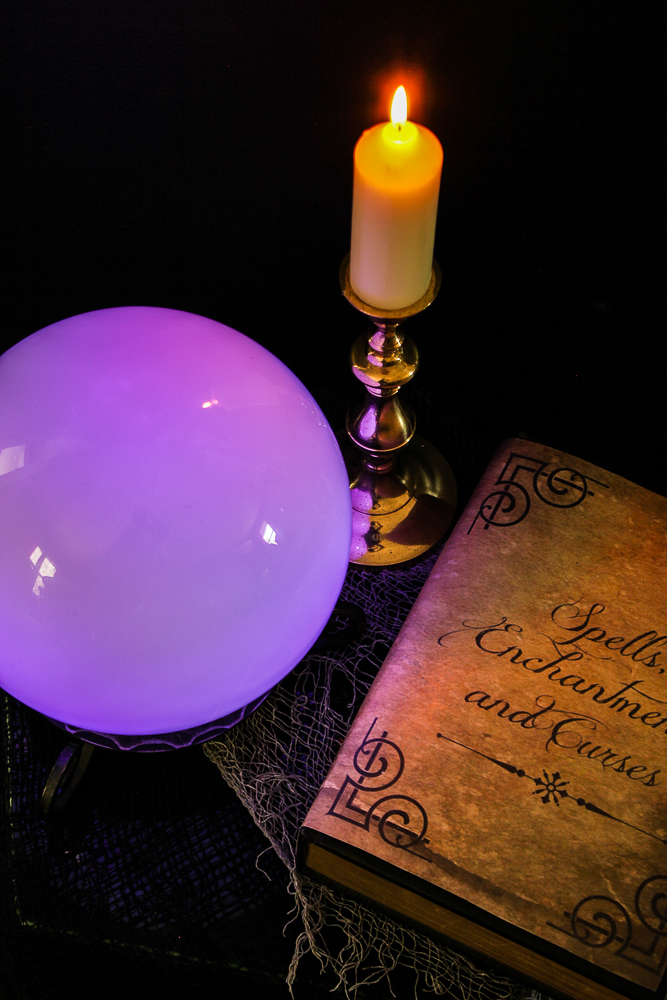 diy fortune teller ball