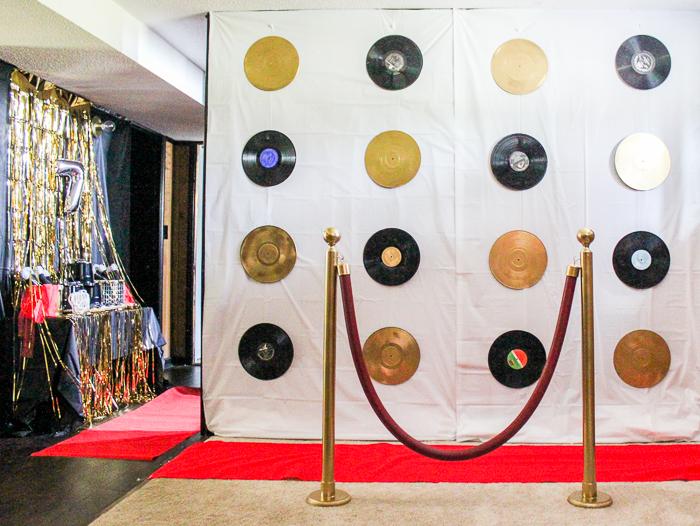 VIP Party Backdrop