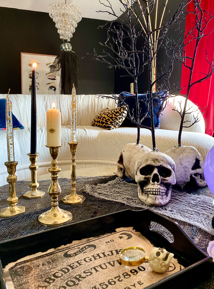 Fortune Telling Table for Halloween