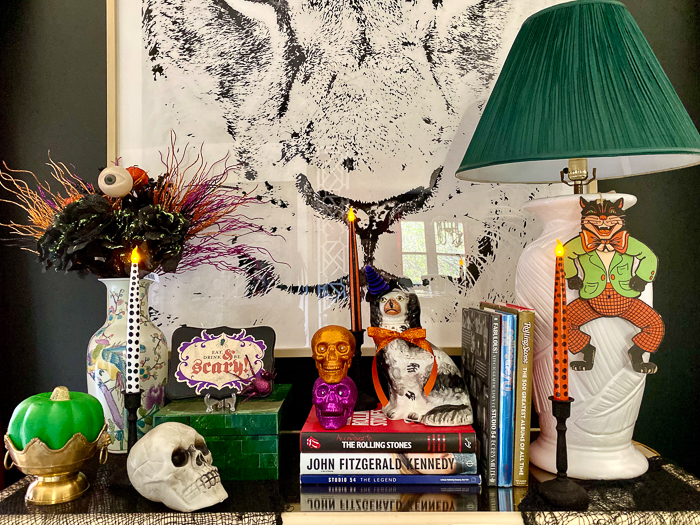 Colorful Halloween Decorating Ideas