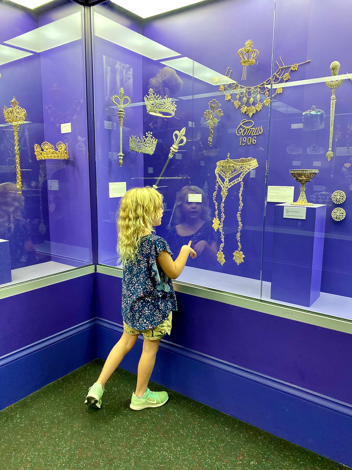 New Orleans Mardi Gras Museum at The Presbytere