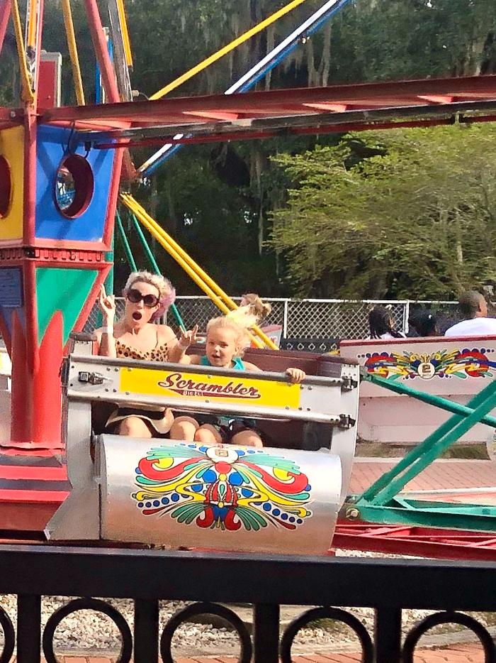 New Orleans Kids Activities - Carousel Gardens Amusement Park