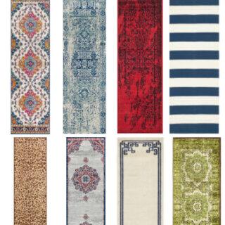 cheap runner rugs