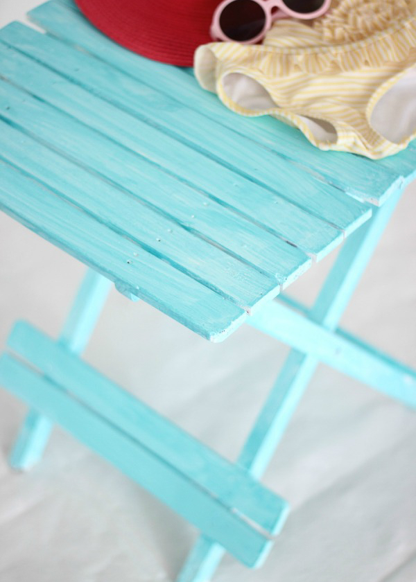 washed out beach blue painted furniture ideas