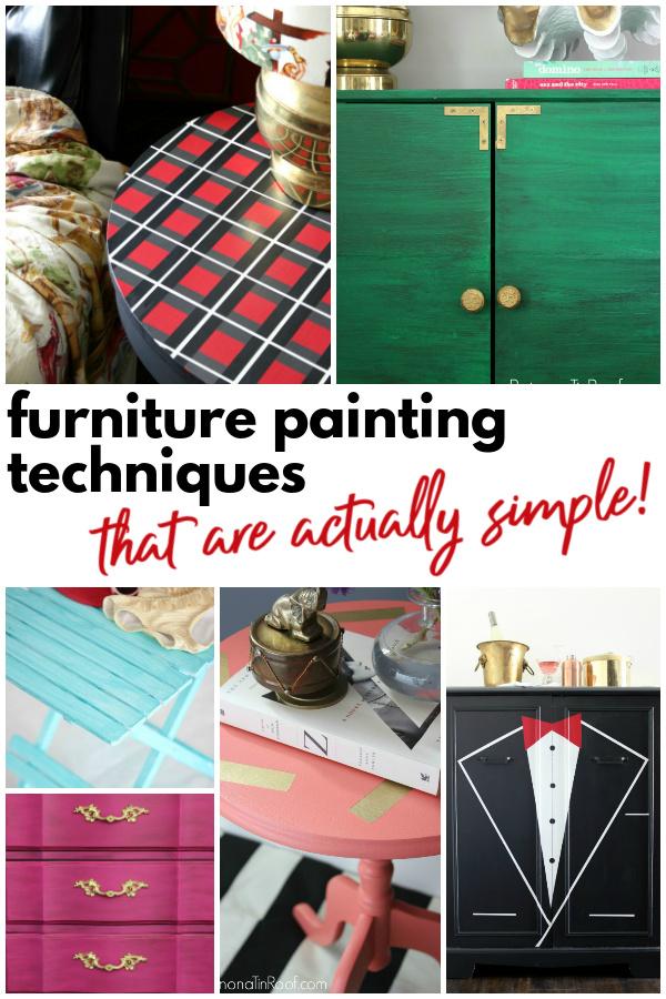 Simple Furniture Painting Ideas