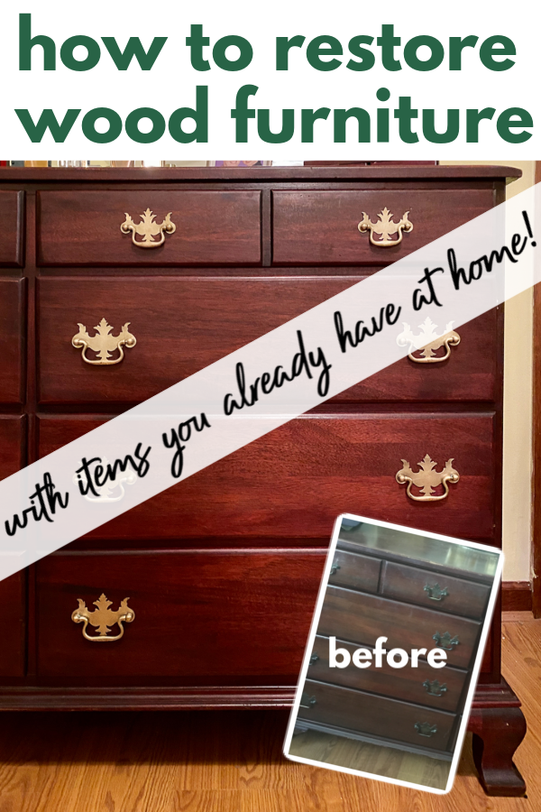 How to Restore Wood Furniture without Stripping or Sanding