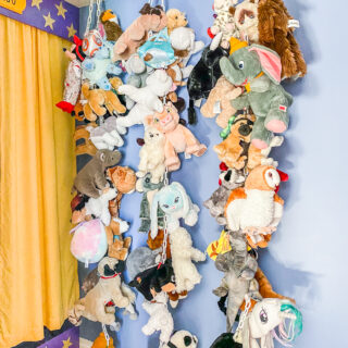 diy stuffed animal storage